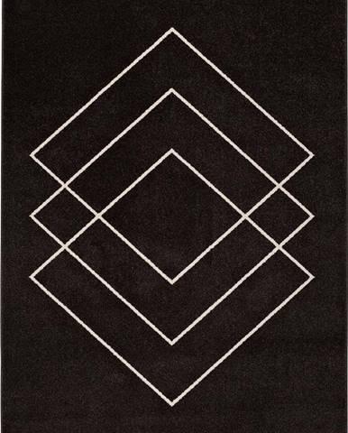 Tmavě hnědý koberec Universal Breda, 160 x 230 cm
