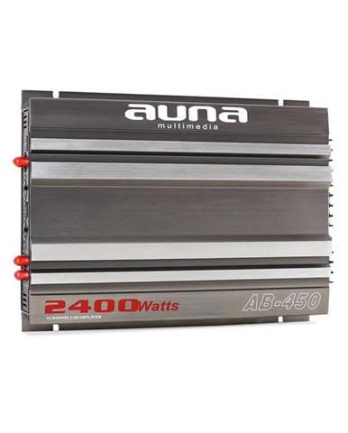 Auna AB-450 4-kanálový zesilovač, automobilový, 2400W