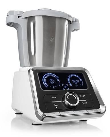 Klarstein Grandprix kuchyňský robot, 500 W / 1000 W 2,5 l, miska na míchání z ušlechtilé oceli, bílá barva