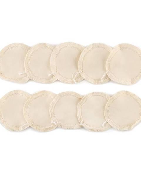 Klarstein Klarstein Drop, textilní filtry, 10 kusů, náhradní, bavlna