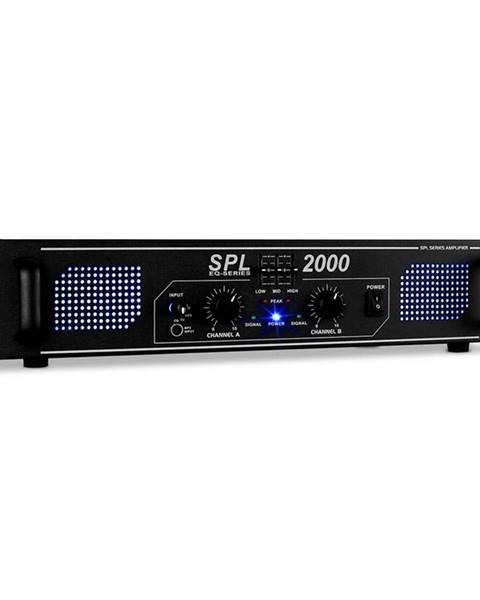 Skytec Skytec SPL-2000 černý, Hi-Fi PA zesilovač, ekvalizér