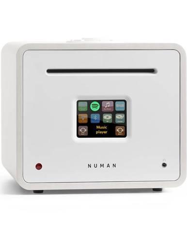 Numan Unison Retrospective Edition – all in one receiver se zesilovačem, přijímač, bílý