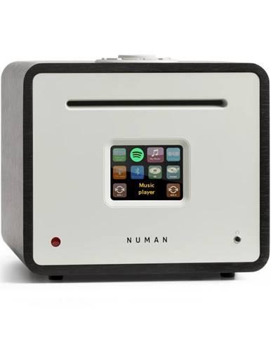 Numan Unison Retrospective Edition – all in one receiver se zesilovačem, přijímač, černý