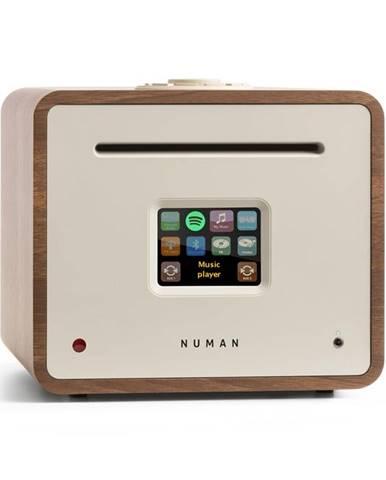 Numan Unison Retrospective Edition – all in one receiver se zesilovačem, přijímač, ořech