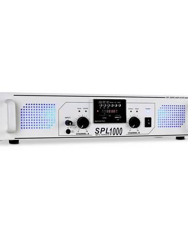 Skytec SPL-1000 MP3 bílý,PA zesilovač, USB/SD/MP3, 2800W