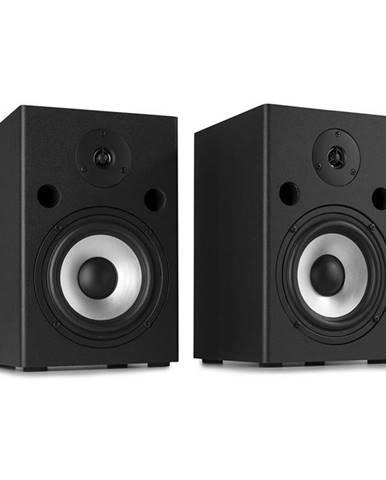 Vonyx SM65, sada studiových monitorů, 180 W max., 2-pásmové reproduktory, černá