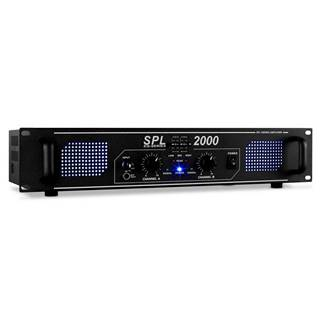 Skytec SPL-2000 černý, Hi-Fi PA zesilovač, ekvalizér