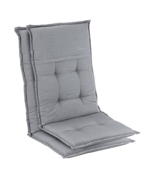 Blumfeldt Blumfeldt Coburg, polstr, čalounění na židli, vysoké opěradlo, zahradní židle, polyester, 53 x 117 x 9 cm