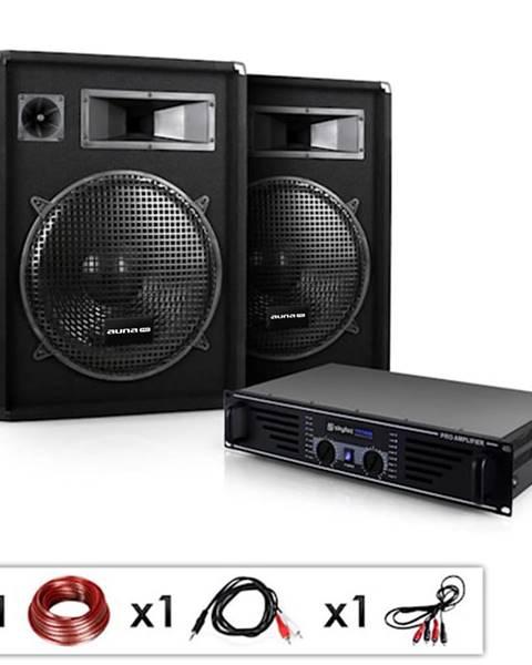 "Electronic-Star Electronic-Star DJ PA kompletní set""Miami Quasar"",zesilovač,2 x reproduktory"