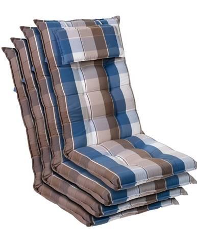 Blumfeldt Sylt, polstr, čalounění na křeslo, vysoké opěradlo, polštář, polyester, 50 x 120 x 9 cm