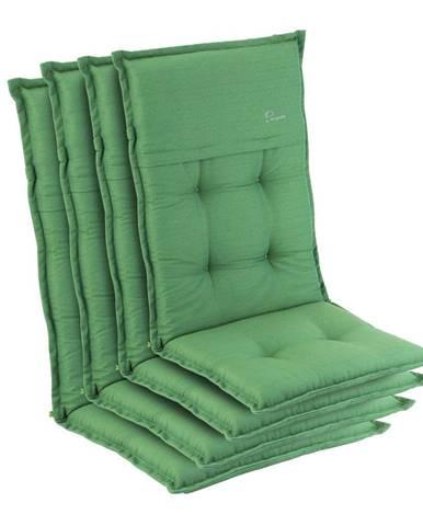 Blumfeldt Coburg, polstr, čalounění na židli, vysoké opěradlo, zahradní židle, polyester, 53 x 117 x 9 cm
