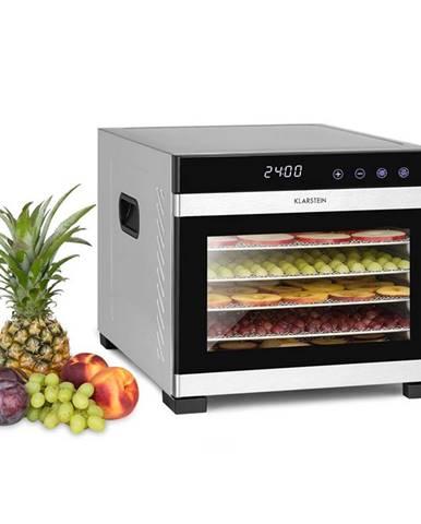 Klarstein Flavour Dry, sušička potravin, 35 - 75 ° C, LCD dotykový displej, časovač, černá