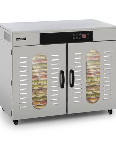 Klarstein Master Jerky 500, sušička potravin, 3000 W, 40 - 90 °C, 24 hod. časovač, ušlechtilá ocel, stříbrná