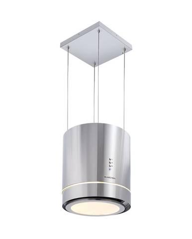 Klarstein Tron Ambience, ostrůvková digestoř, Ø 38 cm, recirkulace 540 m³/h, LED, ušlechtilá ocel