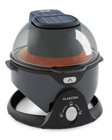 Klarstein VitAir Swing, horkovzdušná fritéza, 1400 w, 50-240°C, časovač, černá