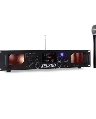 Skytec SPL 300VHF, 300 W, zesilovač, USB, SD, MP3