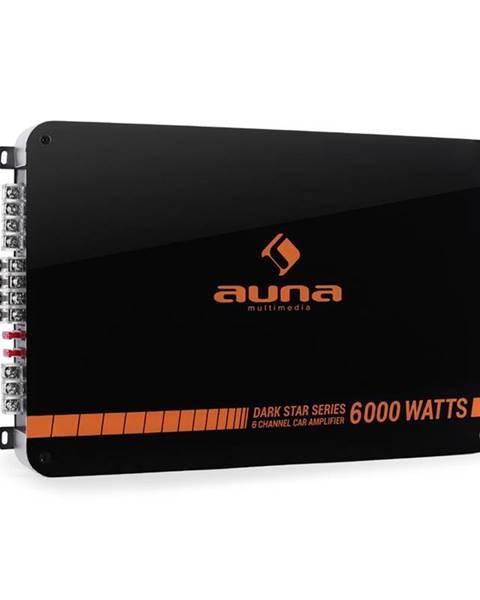 Auna Auna Dark Star 6000, 600 W, 6kanálový koncový zesilovač