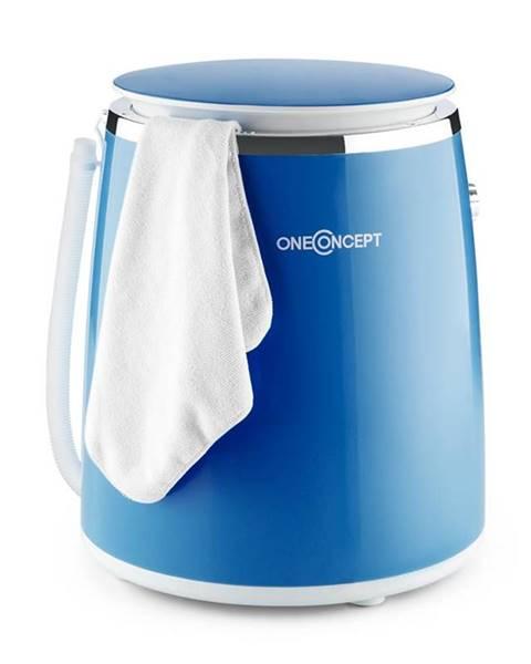 OneConcept OneConcept Ecowash-Pico, modrá, mini pračka, funkce ždímání, 3,5 kg, 380 W