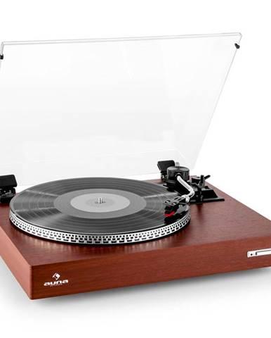 Auna TT-931, gramofon, dřevěný design