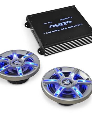 Electronic-Star Auto hi-fi set BeatPilot FX - 202, reproduktory, zesilovač