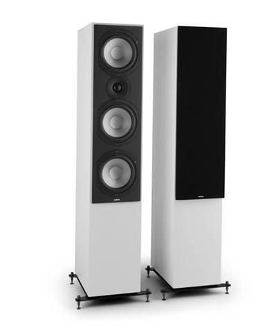 Numan Reference 801c, třícestný stojící reproduktor, pár, bílá barva včetně černých krytů
