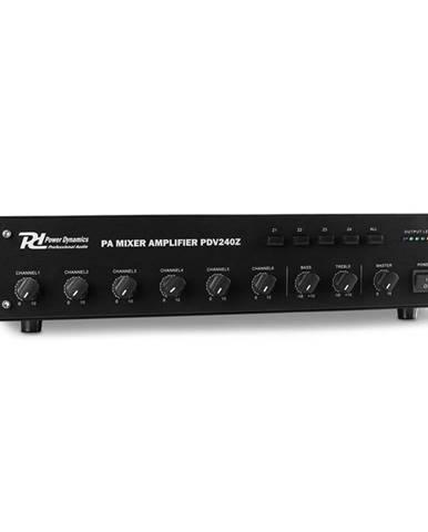 Power Dynamics PDV240Z, 240 W, 6 kanálový PA zesilovač