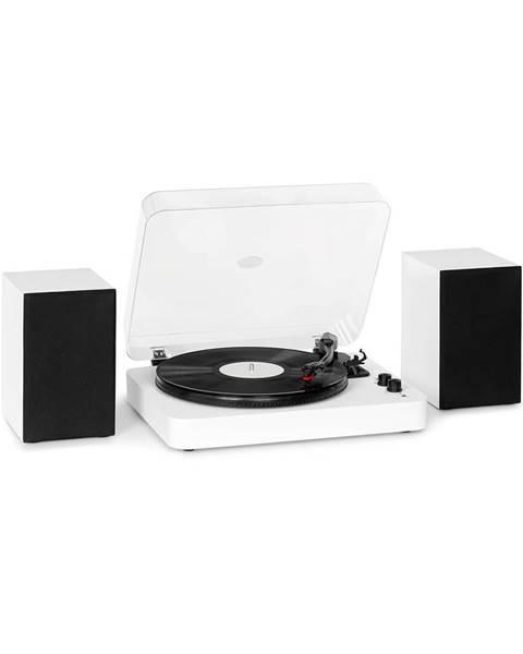 Auna Auna TT-Play SE, gramofon, reproduktory, 20 W max., BT, 33 / 45 / 78 ot./min., PitchControl