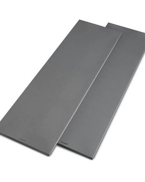 Numan Numan Reference 801 Cover, stříbrný, kryt na věžové reproduktory, pár