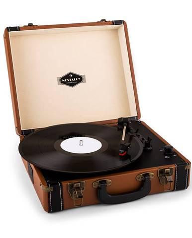 Auna Jerry Lee, retro gramofon, LP, USB, hnědý