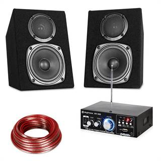 Electronic-Star Hi-Fi Stereo Sound Set USB SD MP3 - 30 W