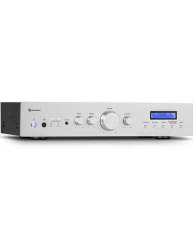 Auna AMP-CD608 DAB, HIFI stereo zesilovač, 4x100W, RMS, DAB+BT, optický vstup, dálkový ovladač