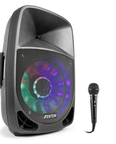 Fenton FT1200A, aktivní reproduktor, 250 W, bluetooth + mikrofon, černý