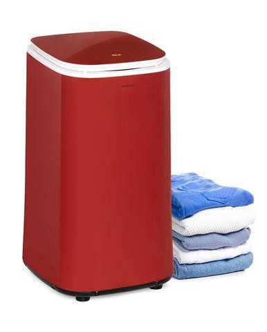 Klarstein Zap Dry, sušička prádla, 820 W, 50 l, dotykový ovládací panel, LED displej, červená