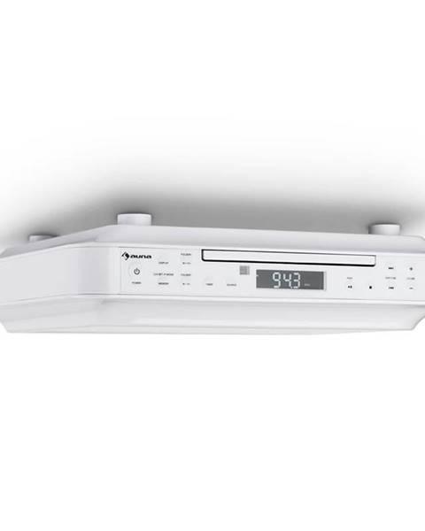 Auna Auna KRCD-100 BT kuchyňské rádio na zabudování, CD, MP3, rádio, bílá barva