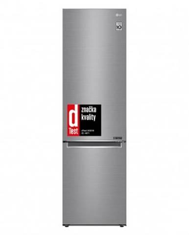 Kombinovaná lednice s mrazákem dole lg gbb62pzgfn