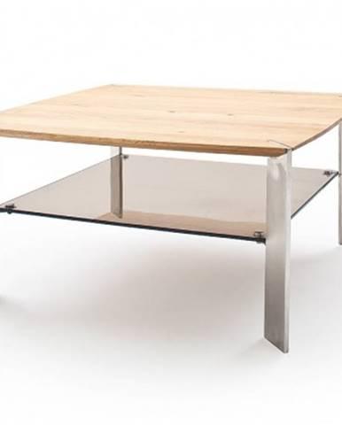 Konfereční stolek - dřevěný konferenční stolek harla - 50x41x50