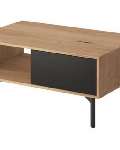 Konfereční stolek - dřevěný konferenční stolek preston