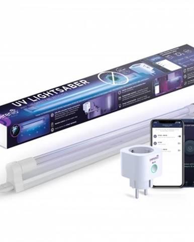 Čistička vzduchu uv lampa + chytrá wifi zásuvka perenio lightsaber kit pekuv01
