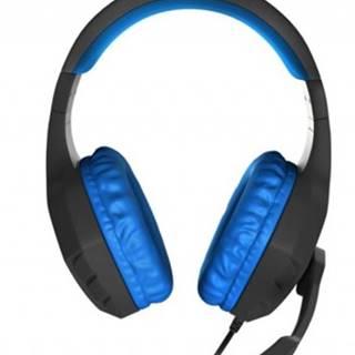 Sluchátka přes hlavu herní sluchátka genesis argon 200, černo-modré
