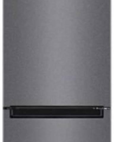 Kombinovaná lednice s mrazákem dole lg gbp31dstzr,nerez