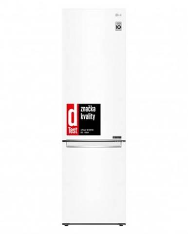 Kombinovaná lednice s mrazákem dole lg gbb62swgfn