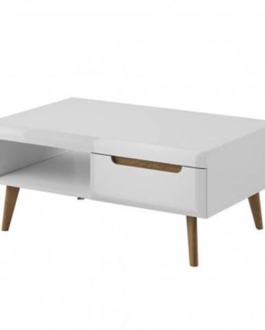 Konfereční stolek - dřevěný konferenční stolek erna