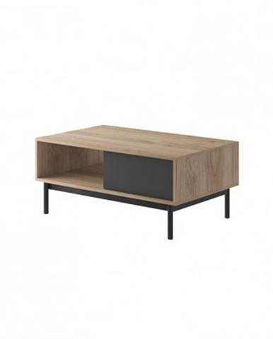 Konfereční stolek - dřevěný konferenční stolek fjara