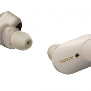 Špuntová sluchátka sony wf-1000xm3 stříbrná