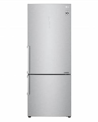 Kombinovaná lednice s mrazákem dole lg gbb569nsafb