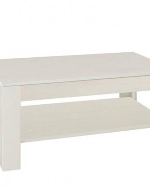 Wipmeb Konfereční stolek - dřevěný konferenční stolek nive - obdélník
