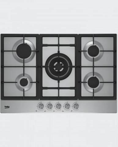 Plynové desky plynová varná deska beko hiaw75225sx