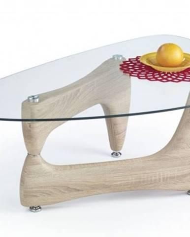 Konferenční stolek - skleněný konferenční stolek karen