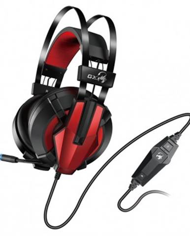 Sluchátka přes hlavu herní headset genius gx hs-g710v, 7.1, vibrační