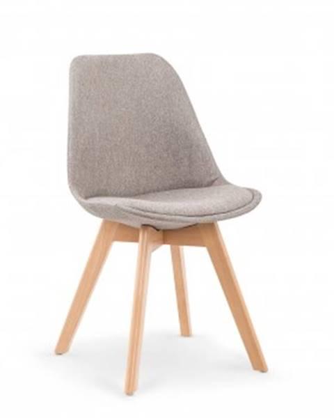 Halmar Jídelní židle jídelní židle k303 šedá